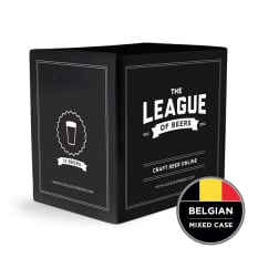 League of Beers Belgian Beer Mixed Case