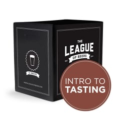 League of Beers Introduction to Craft Beer Tasting Mixed Case