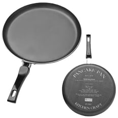 KitchenCraft Non-Stick Crepe or Pancake Pan, 24cm