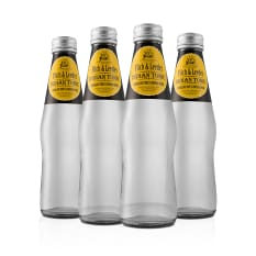 Fitch & Leedes Indian Tonic Water Bottles, Pack of 4