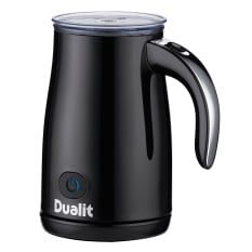 Dualit Milk Frother with Chrome Handle, Cordless, 200ml