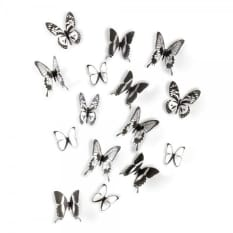 Umbra Chrysalis Wall Decor, Set of 15