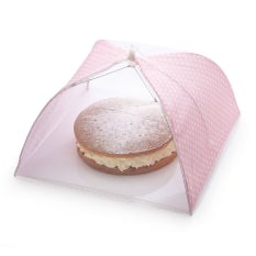 KitchenCraft Polka Dot Umbrella Food Cover, 42cm