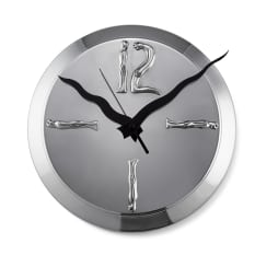 Carrol Boyes Woman-Man Wall Clock, Large