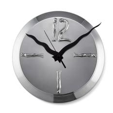 Carrol Boyes Woman-Man Wall Clock, Large