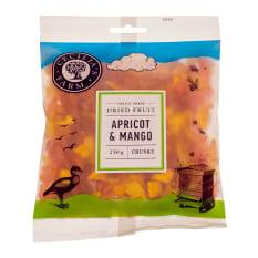 Cecilia's Farm Apricot & Mango Chunks, 250g