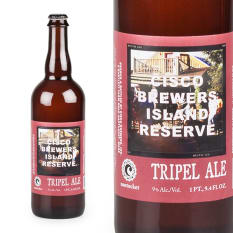 Cisco Brewers Island Reserve Tripel Ale, 750ml
