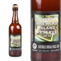 Cisco Brewers Island Reserve Double IPA, 750ml