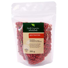 Health Connection Wholefoods Sun Dried Goji Berries, 250g