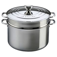 Le Creuset Professional 3 Ply Stainless Steel Pasta Pot, 26cm
