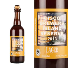 Cisco Brewers Island Reserve Lager, 750ml