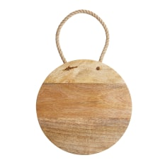 Master Class Round Mango Wood Board