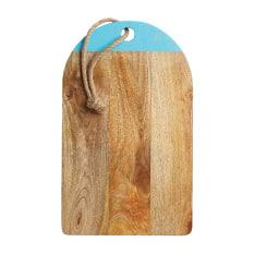 Master Class Blue Painted Mango Wood Board