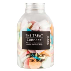 The Treat Company Sweet Heart Mottos Jar, 285g