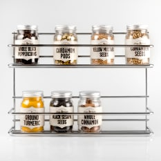 Home Essentials 2 Tier Spice Rack
