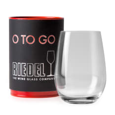 Riedel O To Go Stemless White Wine Glass, Single