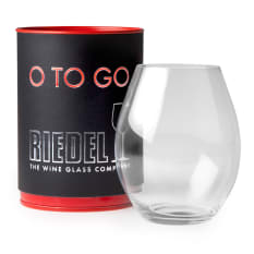 Riedel O To Go Stemless Red Wine Glass, Single