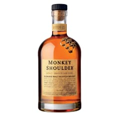 Monkey Shoulder Blended Malt Scotch Whisky, 750ml