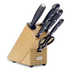 Wusthof Gourmet 6 Piece Starter Knife Block Set