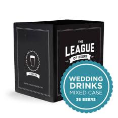 League of Beers Wedding Drinks Mixed Case