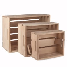 Laid Back Company Oak Storage Crate