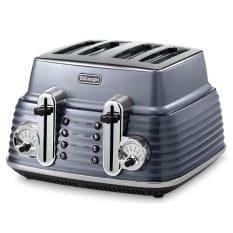DeLonghi Scultura 1800W 4 Slice Toaster