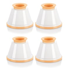 Tescoma Delicia Panna Cotta Mould Set, Set of 4