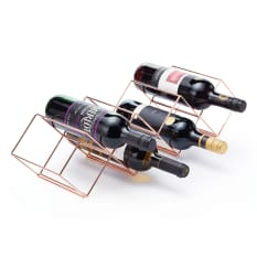 Kitchen Craft BarCraft Copper Finish Stackable Wine Rack