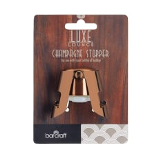 Kitchen Craft Luxe Lounge Champagne Bottle Stopper