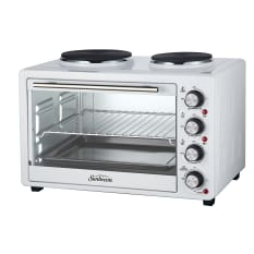 Sunbeam 35 Litre Mini Oven with 2 Solid Hotplates