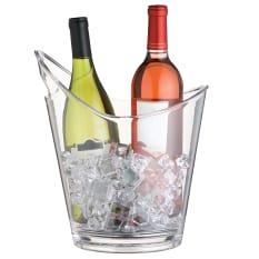 KitchenCraft Clear Acrylic Wine bucket