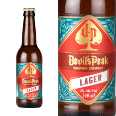 Devil's Peak Brewing Company Lager
