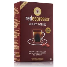 Red Espresso Intenso Rooibos Capsules, Box of 10