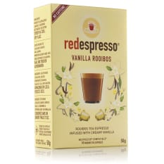 Red Espresso Vanilla Rooibos Capsules, Box of 10