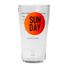AND UNION Sunday Beer Glass, 500ml