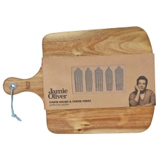 Jamie Oliver Cheese Board with Cheese Fork Markers