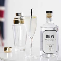 Hope on Hopkins London Dry Gin, 750ml