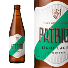 Citizen Patriot Light Lager, 440ml