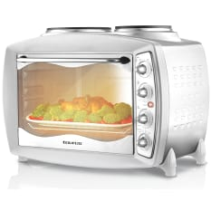 Taurus 28 Litre Mini Oven with 2 Solid Hotplates