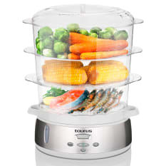 Taurus Estilo 3 Tiered Food Steamer