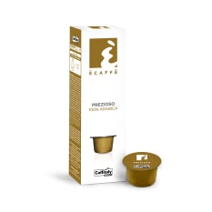 Caffitaly Prezioso Ecaffe Coffee Capsules, Pack of 10