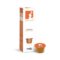 Caffitaly Cremoso Ecaffe Coffee Capsules, Pack of 10