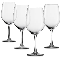 Spiegelau Lead-Free Crystal Winelovers Red Wine Glasses, Set of 4