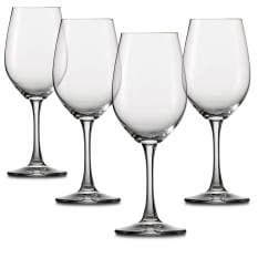 Spiegelau Lead-Free Crystal Winelovers White Wine Glasses, Set of 4