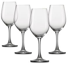 Spiegelau Lead-Free Crystal Winelovers White Wine Glasses, Set of 4
