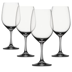 Spiegelau Lead-Free Crystal Vino Grande Bordeaux Wine Glasses, Set of 4
