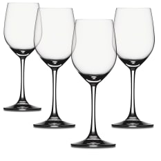 Spiegelau Lead-Free Crystal Vino Grande White Wine Glasses, Set of 4