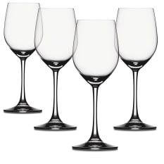 Spiegelau Lead-Free Crystal Vino Grande White Wine Glasses, Set of 4