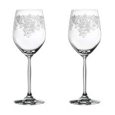 Spiegelau Lead-Free Crystal Renaissance Red Wine Glasses, Set of 2