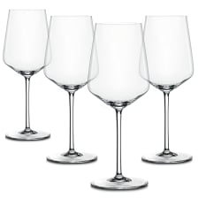 Spiegelau Lead-Free Crystal Style White Wine Glasses, Set of 4